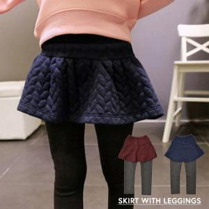 スカート付きレギンスパンツ レギンス付きスカート スカッツ ...