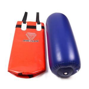 サンドバック パンチングバッグ 子供用 吊り下げタイプ ヘビーバッグ 格闘技 ボクシング 空手 キックボクシング エクササイズ フィットネス 空気入れ|plusnao