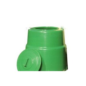 【北海道不可】コラポン 生ゴミ処理器 容量:200リットル サンポリ【代引不可】 plusys