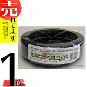 ハウスバンド (リニアバンド) 黒  3芯 × 4本 巾 15mm × 500m 巻 小商DPZZ|plusys