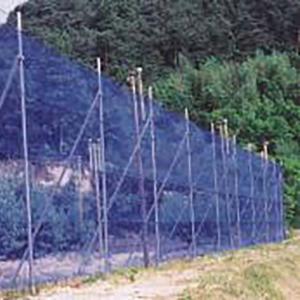 防風ネット 4mm 目合 巾 0.5m×長さ 50m シN直送|plusys
