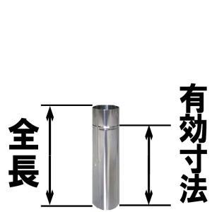 110mm 半直 ステンレス煙突 シングル イチカワ 金TD|plusys