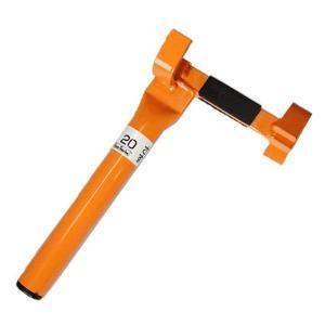 園芸支柱ヘルパー 支柱 イボ竹 簡単 抜きさし 補助具 16mm 20mm 兼用 小KD|plusys