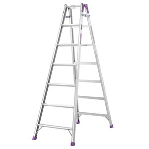 【北海道配送不可】 脚立 7尺 組立高さ1.7m はしご 兼用 MR-210W 製品安全協会認定品 アルインコ アR【代引不可】|plusys