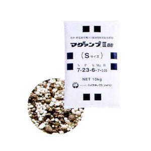 マグァンプ III BB Sサイズ 10kg 【有機配合 肥料】 [肥効期間 約1〜2ヵ月] 代引不可|plusys