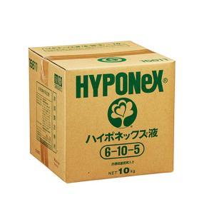 ハイポネックス液 10kg入(約8L) 6-10-5 【濃縮液肥・各種微量要素入】 タ種【代引不可】|plusys