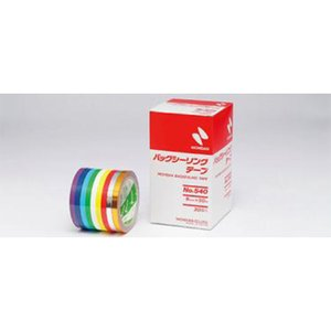 ニチバン バックシーリングテープ No.540 赤色 1巻 日ADPZ|plusys