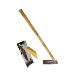 姫鍬 ステンレス 月姫鍬 S-7型 3.5尺柄付 堤製作所 DNZZ|plusys