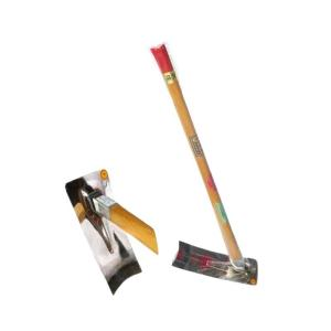 姫鍬 S-6 クロヌリ(畦塗り)型 3.5尺柄付 堤製作所 DNZZ|plusys