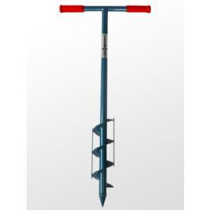 らせん穴掘器 (鉄製) 直径: 9cm  シMHNZZ|plusys