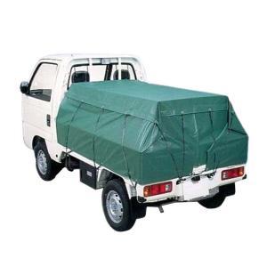 トラックシート 3号 軽トラック 山張り エステル帆布 2.5m × 2.6m 萩原工業 ツ化D