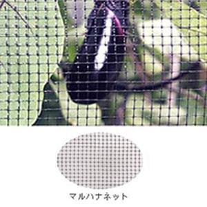 マルハナネット 黒 OB4120 1.9m×50m 目合4×4mm 36g/m2 ハチネット コンウェッドネット タ種【代引不可】|plusys