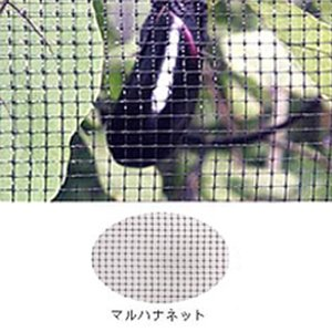 マルハナネット 黒 OB4120 2m×100m 目合4×4mm 36g/m2 ハチネット コンウェッドネット タ種【代引不可】|plusys