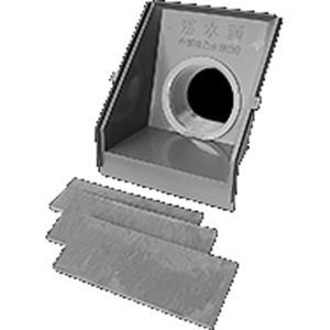 単作 落水函  ET1-100 パイプ径 100mm 用 田んぼの排水口 水位調整 3段階 中部美化 シB 【代引不可】|plusys