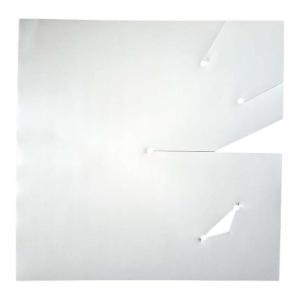 【2000枚】果実袋 ぶどう さし込みぶどう傘 乳白色 0.125×220×220mm タ種D|plusys