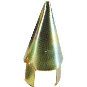 【120個】 単管 打ち込み 先端  48.6 mm スチール ミサイル アラオ【代引不可】|plusys