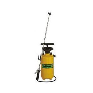 フルプラ ダイヤスプレー プレッシャー式噴霧器 2頭式最長2.1m伸縮ノズル付き No.7560 金TD|plusys