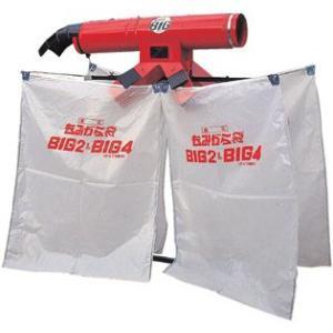 籾殻は袋に入り、風とホコリは外に排出します。  1.籾すり機の選別性能を変えません。 籾殻と風を理想...