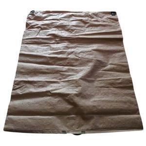【50枚】 もみがら袋 籾殻袋  樹脂製 (コンテナバッグと同じ素材) 薄茶色 1000×1350mm  コ商DNZ|plusys