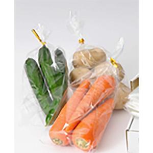 ボードン袋 4穴プラ付 No.7 0.02mm厚×115×450 5000枚入 野菜出荷透明袋 日A【代引不可】|plusys