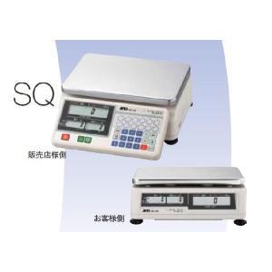 A&D デジタル料金はかり SQ-30K ひょう量:30kg 取引証明用(検定付き)|plusys