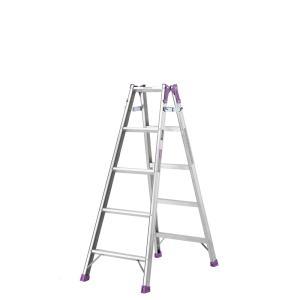 【北海道配送不可】 脚立 5尺 組立高さ1.11m はしご 兼用 MR-150W 製品安全協会認定品 アルインコ アR【代引不可】|plusys