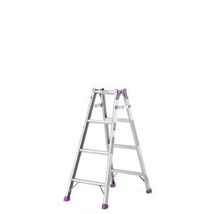 【北海道配送不可】 脚立 4尺 組立高さ0.81m はしご 兼用 MR-120W 製品安全協会認定品 アルインコ アR【代引不可】|plusys