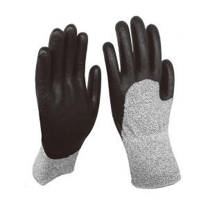 高耐切創性手袋 ニトリルナックル NO.496 サイズL 福徳産業  軍手 カJZ|plusys