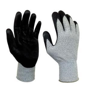 高耐切創性手袋 ニトリル背抜き NO.497 サイズM 福徳産業  軍手 カJZ|plusys