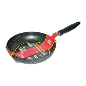 IHマーブルフライパン サイズ 26cm 商品コード 065265  ・オール熱源対応  ・内面・外...