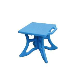 【10個】 クロスチェア 青 組立式 アウトドア 屋外 椅子 イス 安全興業【代引不可】 個人店入れ|plusys