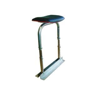 スイング楽々チェア 【高所用】 農業用椅子 [バネで傾斜地でも座面が平に] 槍木産業 うつぎ産業 カ施 【代引不可】|plusys