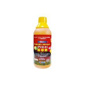 【20本】 除草剤 グリホ41 500ml 非農耕地用 雑草対策 計量カップ ヨーキ産業 【代引不可】|plusys