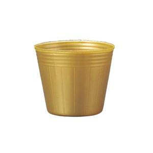[25,000個] TOカラーポット 8cm 金 丸型 ポリポット ゴールド TOKAI ポット苗 育苗ポット 花 野菜 東海化成 タ種 [代引不可] plusys