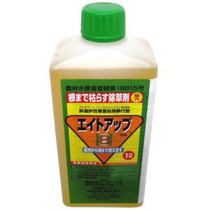 グリホサート系 除草剤 エイトアップ 1L 12入 【濃縮-薄めて使うタイプ】 イN【代引不可】|plusys