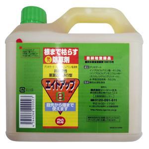 グリホサート系 除草剤 エイトアップ 2L 6入 【濃縮-薄めて使うタイプ】 イN【代引不可】|plusys
