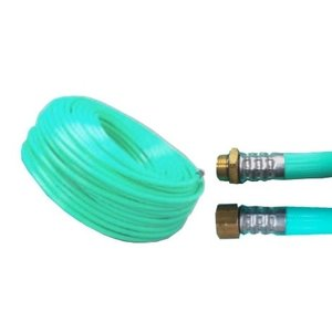 十川ゴム 動噴ホース グリーン軽量スプレーホース 5.0Mpa 13mm×50m金具付 防J【代引不可】|plusys