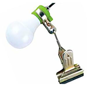 富士倉 植物育成用クリップランプ LED 防水 KY-08W-SC  コY D plusys