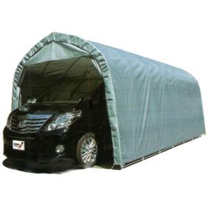 パイプ車庫 3256BGR ベース車庫大型BOX用 西4 南栄工業 D|plusys