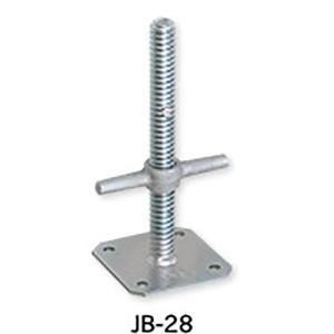 【6本】伊藤製作所 123 ジャッキベース 直径 34 mm用 JB-28 アMD|plusys