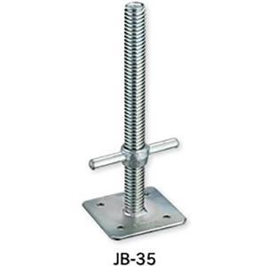 【6本】伊藤製作所 123 ジャッキベース 直径 42.7 / 48.6 mm用 JB-35 アMD|plusys