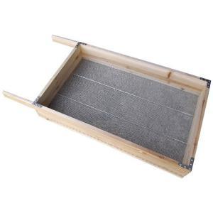 木製 フルイ 1.5分 TW-0100 目合い 4.5mm ふるい サンカ H|plusys
