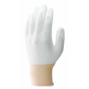 パームフィット手袋(10双入) Lサイズ ホワイト No.B0500 簡易包装 [ショーワグローブ] 三カD|plusys