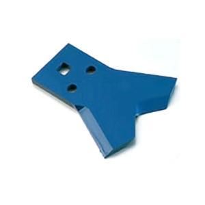 【替刃のみ】【0464】2枚入 乗用草刈機用替刃 Wカット60 下刃 青色 三陽金属 三冨D|plusys