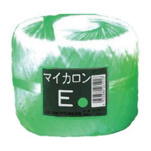 【40個】 マイカロンE 玉巻 緑 300m × 70mm pp ビニール 荷物 の 荷造り 梱包 紐 ロープ タ種 【代引不可】 plusys