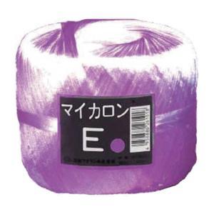 【40個】 マイカロンE 玉巻 紫 300m × 70mm pp ビニール 荷物 の 荷造り 梱包 紐 ロープ タ種 【代引不可】 plusys