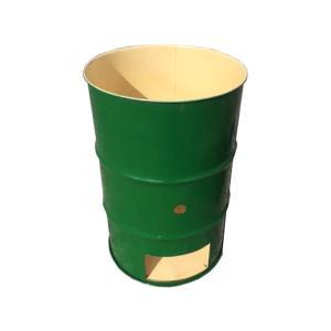 【塗装無】 緑 ドラム缶焼却炉 オープンドラム 200L 焼却炉 納期3週間 ミY 【代引不可】|plusys
