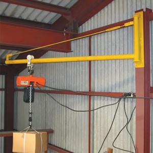 パイプジブクレーン PJ1500 トロリー可動  1.5 m 最大使用荷重 150 m (ホイストは別売りです) スリーエッチ HHH H|plusys