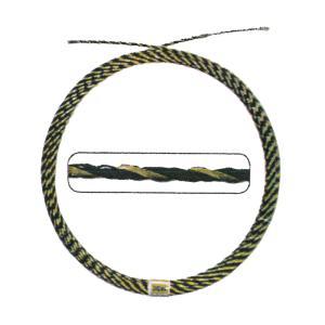 通線・入線専用ワイヤー 撚線数 3 本 全長 7 m ロッド径 6.3 mm 最大荷重 350 kg  シM H plusys