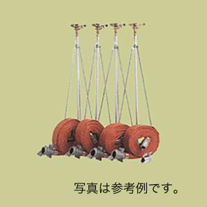 【個人宅配送不可】 ワンタッチ式 [農業用] ホースセット 移動式 散水セット シリーズ H-40-30F-4  サイズ  径40 共立イリゲート 防J【代引不可】|plusys